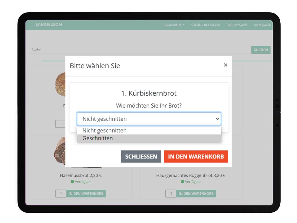 Samuelson WebShop